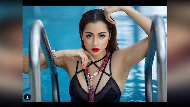 madhura naik black bikini photos