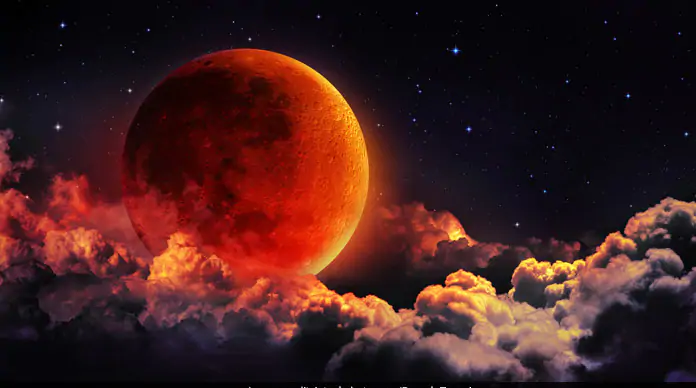 incredible Super Blood Moon Pictures