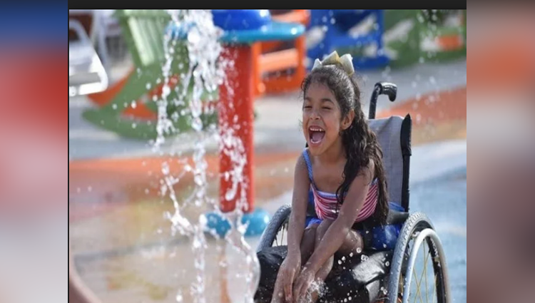 Water Park made For Disabled kids