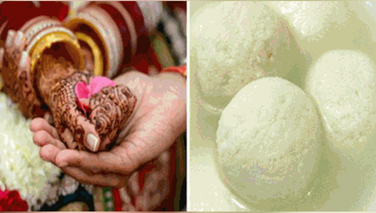 marriage breaks due to rasgulla