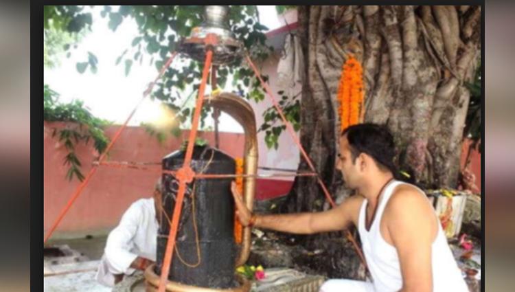 mahadevi jharkhandi shivling temple