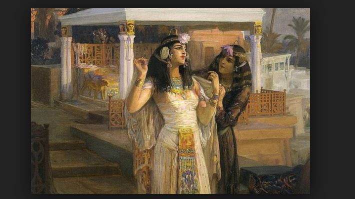 Cleopatra Queen of Ancient Egypt took baths in donkey milk for bath