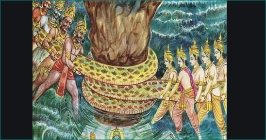 why shiva drink samudra manthan vish
