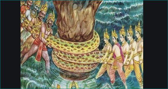 why shiva drink samudra manthan vish