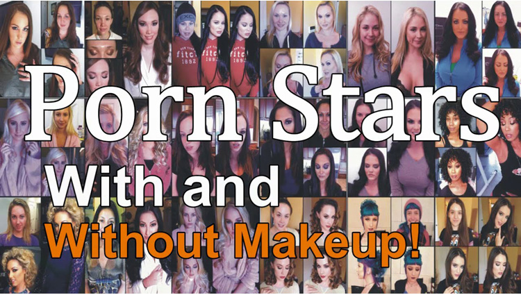 pornstars without makeup photos