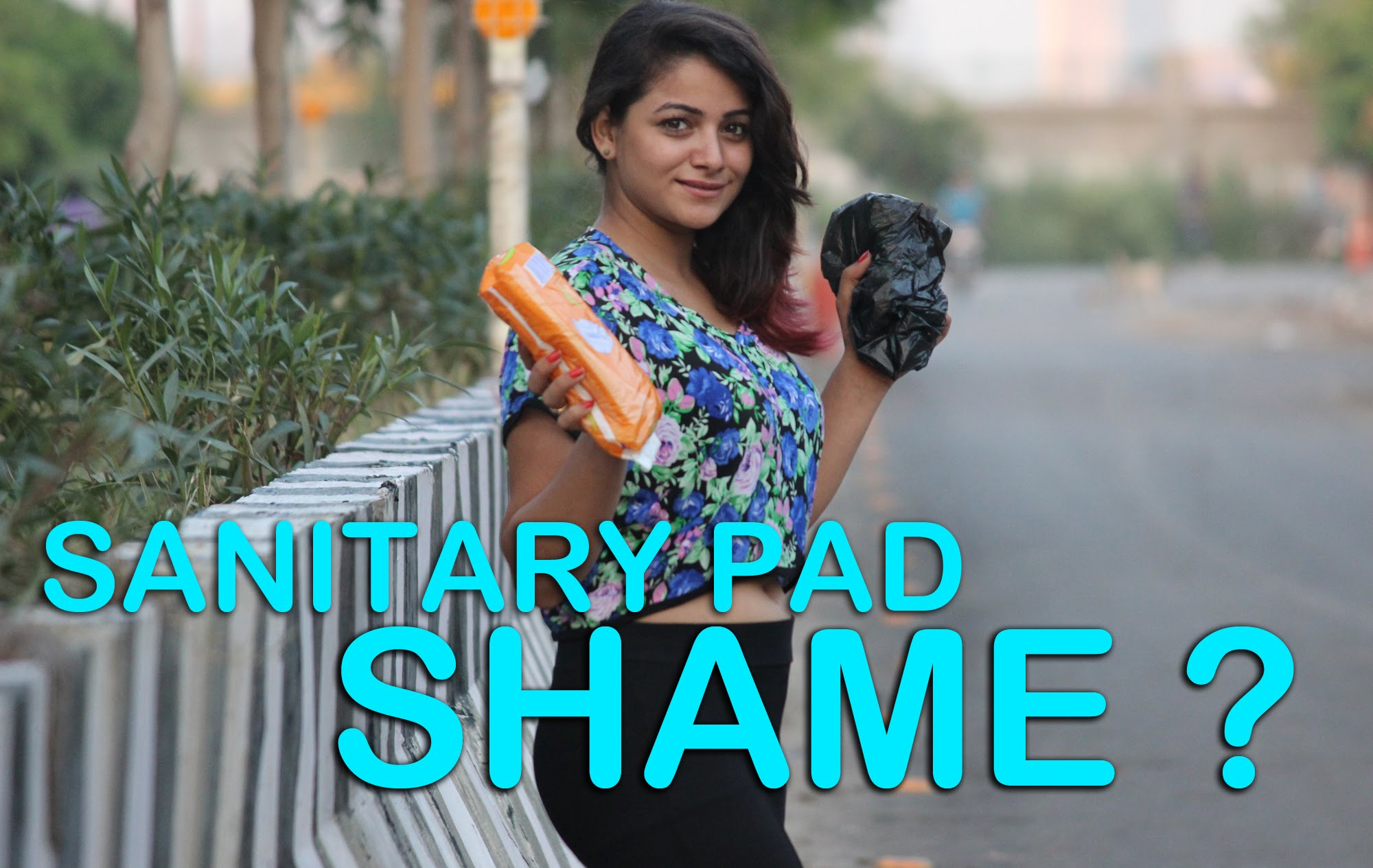 Sanitary Pad Is Shame