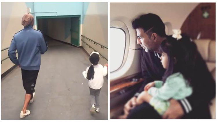 akshay kumar shares an adorable video with daughter nitara