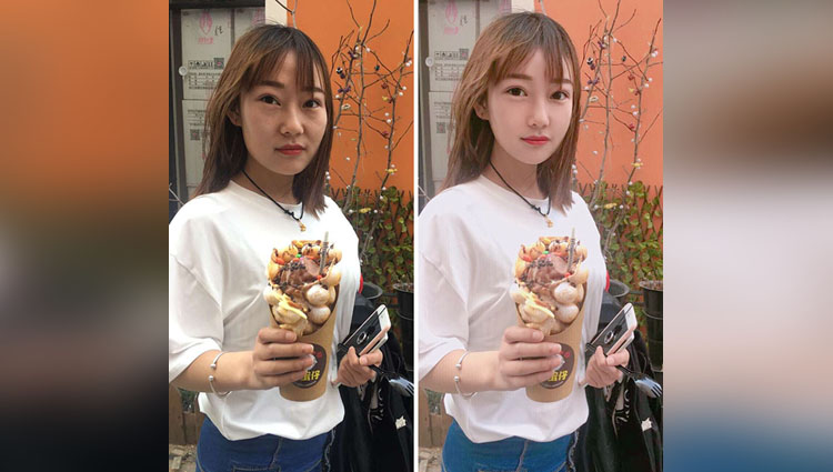fake photoshopped social media images kanahoooo china