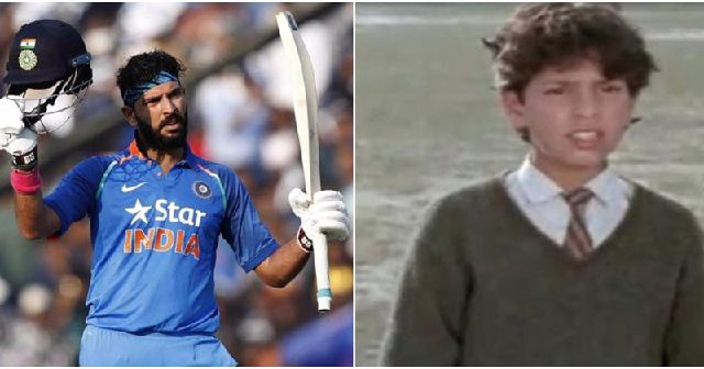 yuvraj singh was a child actor way before he became a cricketer