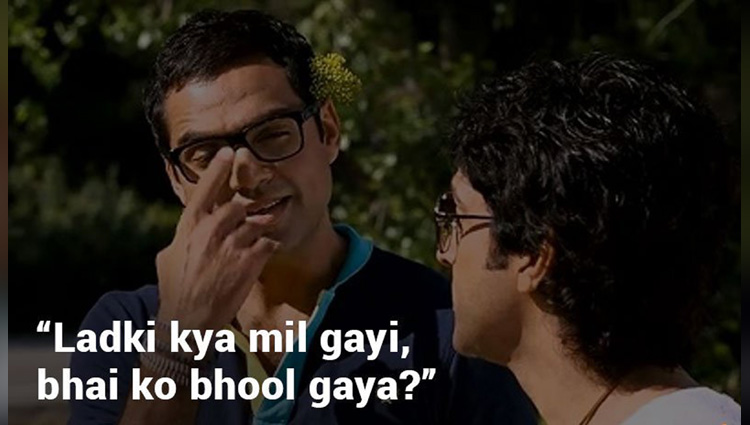 this dialogues speak by our best friends