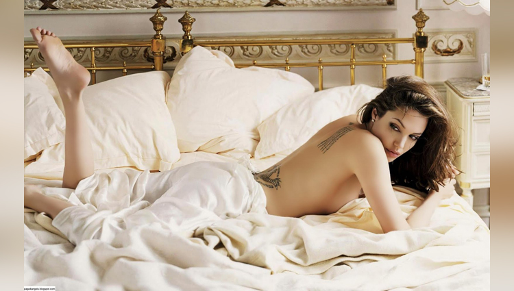 yesterday hollywood star and hot actress Angelina Jolie Turns 42