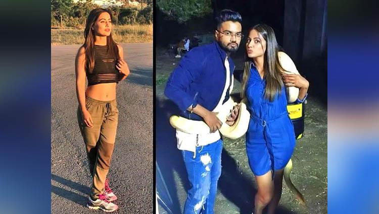 akshara aka hina khan boyfriend rocky jaiswal in spain