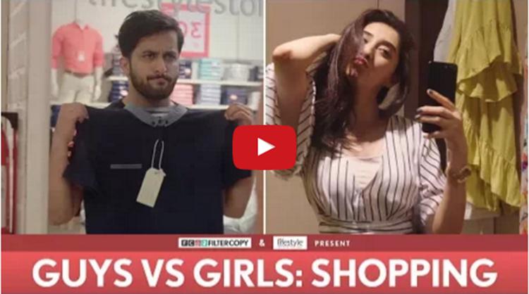 Guys vs Girls Shopping