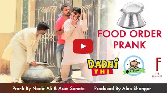 Food Order Prank video