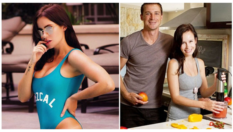 Girlfriend of South African fast bowler Dale Steyn is famous Actress and model