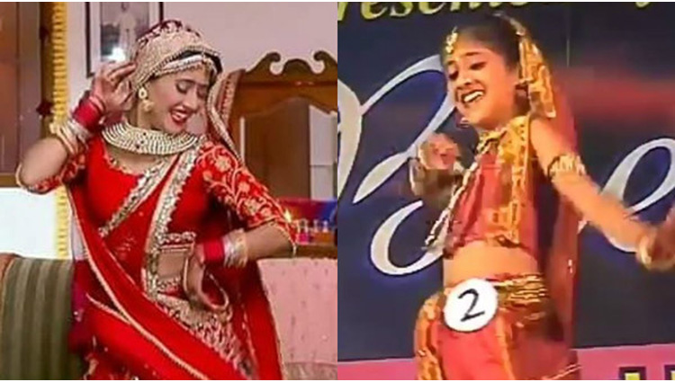 yeh rishta kya kehlata hai actress naira share her throwback dance video
