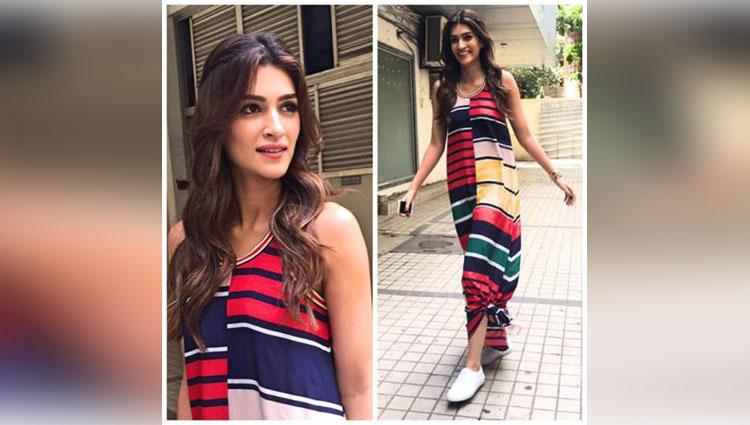 Kriti Sanon's Promotional Look During Raabta