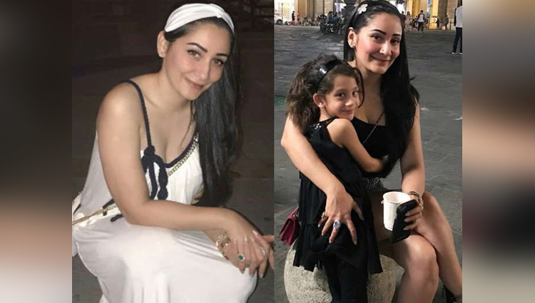 manyata dutt enjoying vacation with kids in italy