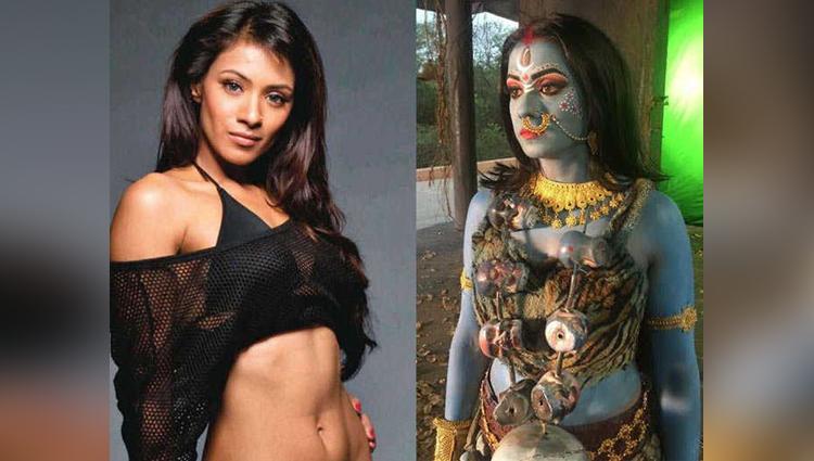 Actress Barkha Bisht turns goddess Kali