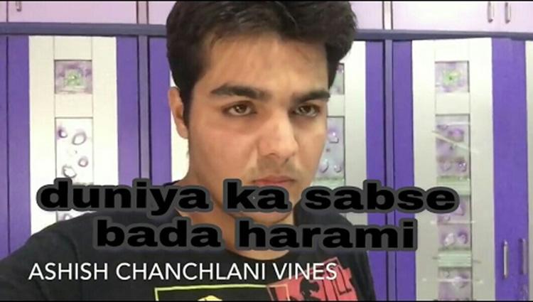 Duniya ka sabse bada harami Ashish chanchlani