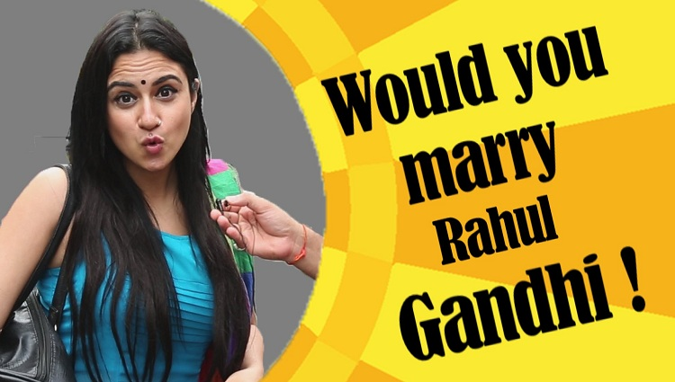 Would You Marry Rahul Gandhi | Mumbai Girls React | Shitchat