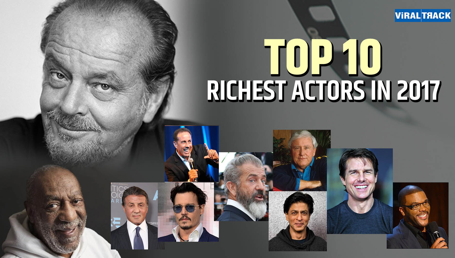Top 10 Richest Actors in 2017