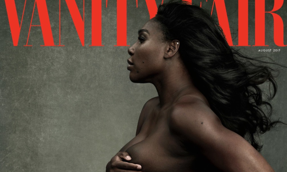 Serena williams pregnancy nude photoshoot