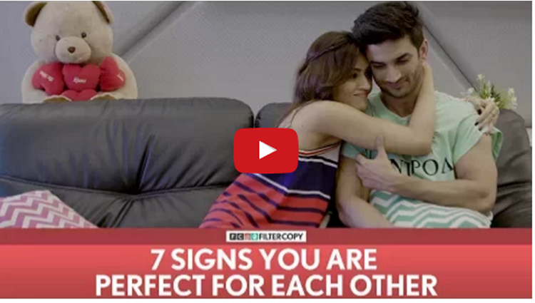 7 Signs You Are Perfect For Each Other