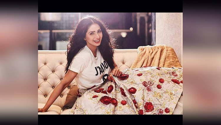 Sridevi Proves That She Is The Real Bollywood Diva By Her Latest Photoshoot