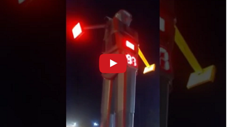 Traffic robot in indore