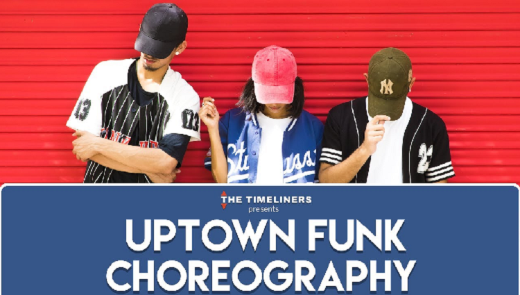 Uptown Funk Bruno Mars Choreography The Timeliners