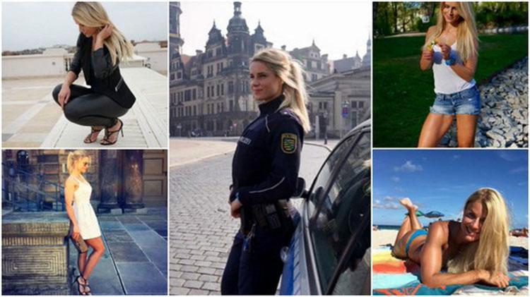 worlds hottest police officer Adrienne Koleszar