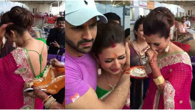 divyanka tripathi shares a video of her bidaai