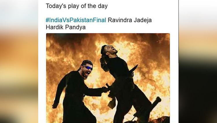 cricket fans angry with jadeja on twitter