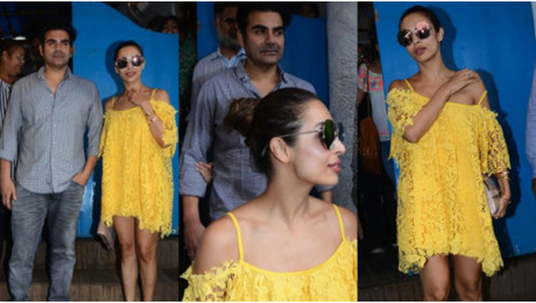 malaika arora had lunch with family after divorce with husband