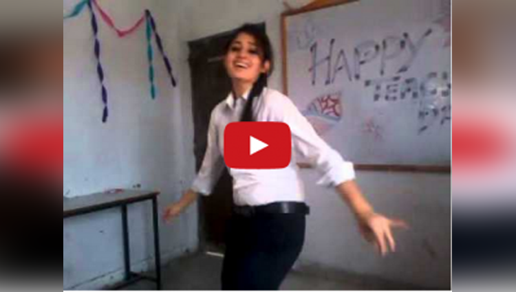 girl dance in college