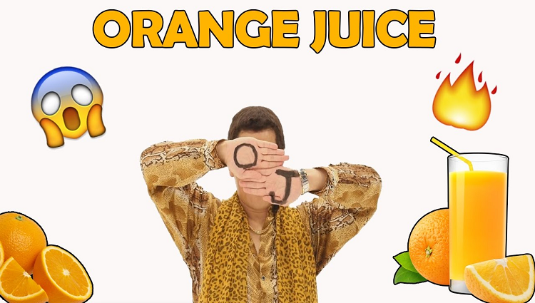 Pikotaro Orange Juice Song 2017 PPAP