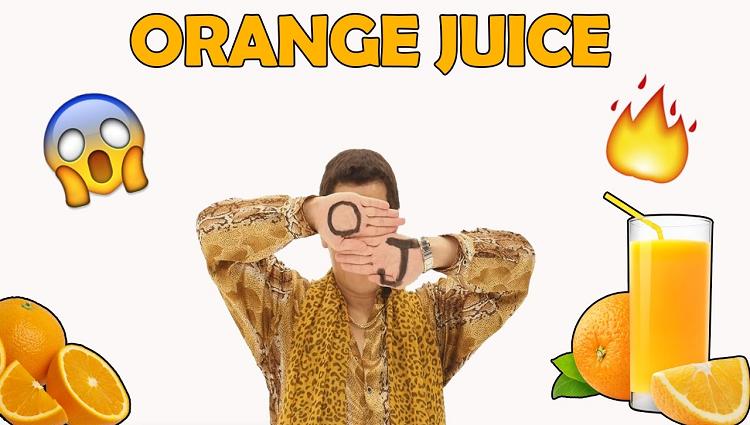Pikotaro Orange Juice Song 2017 PPAP