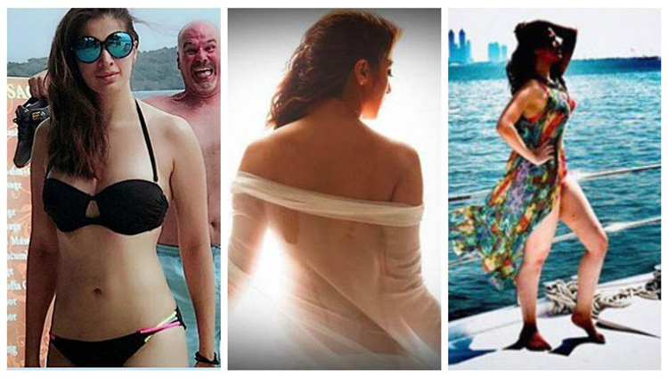 Raai Laxmi Julie 2 actress share her hot and bold photos on instagram