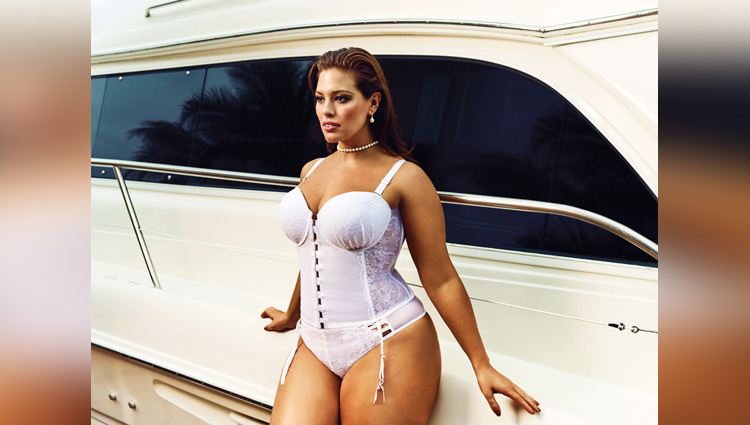 ashley graham and Candice Huffine viral photos