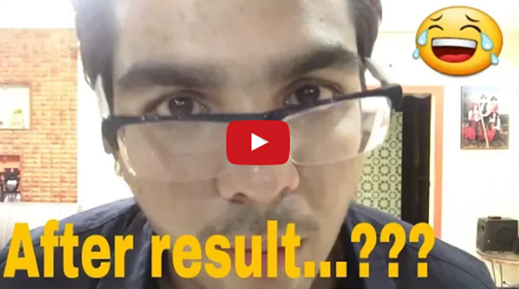funny video after result is come