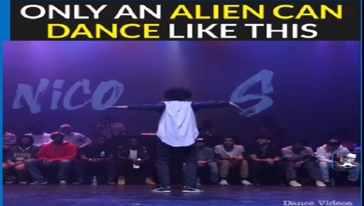 boy danced like robot, viral video on social sites