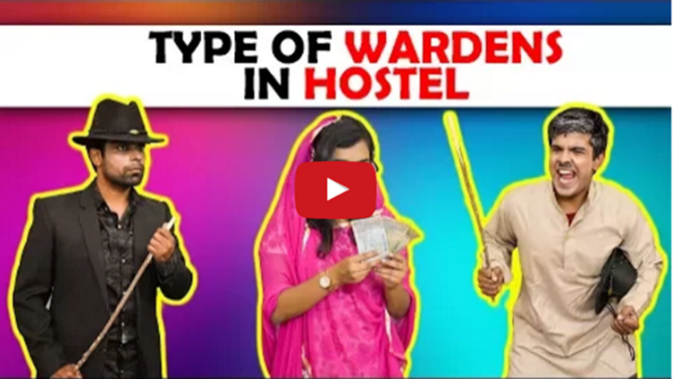 Type Of Wardens in Hostel