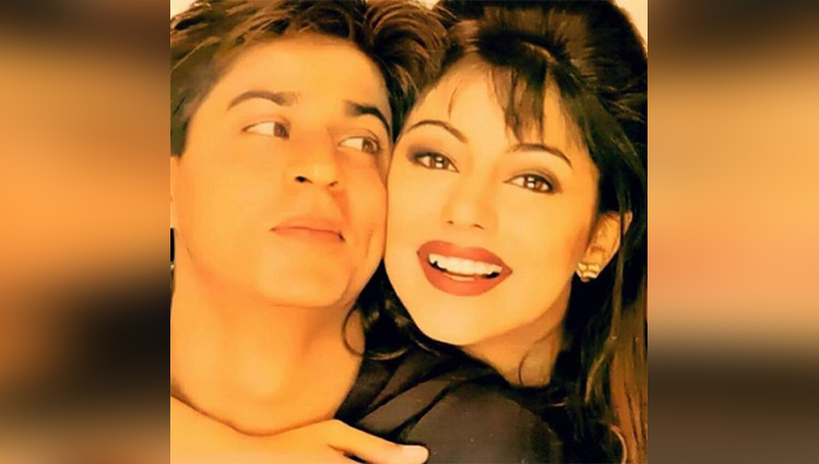 gauri Khans romantic throwback pic with srk