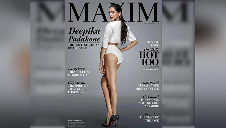Deepika Becomes Hottest Woman Of The Year Features On Maxim India Cover
