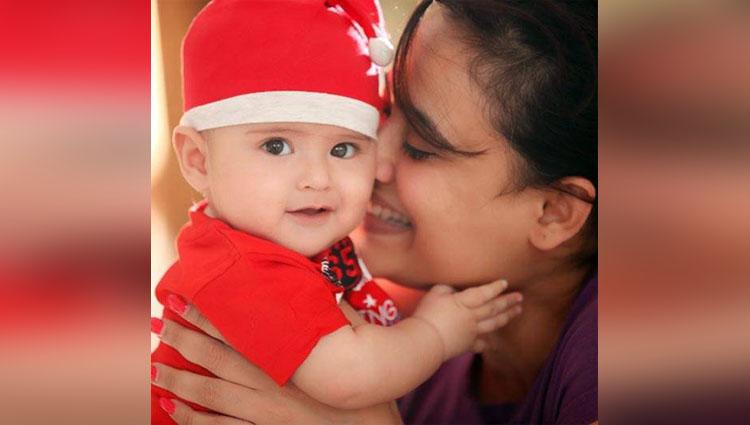 Little Munchkin Of Shweta Tiwari 'Reiyash' Is More Like A Teddy Bear