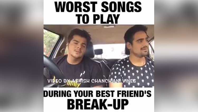 worst songs to play during your best friend break up