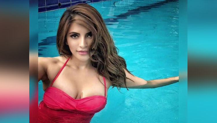 Shama Sikander Pool Photoshoot