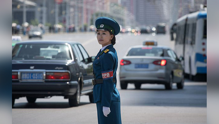 kim jong uns traffic ladies are hired for their looks