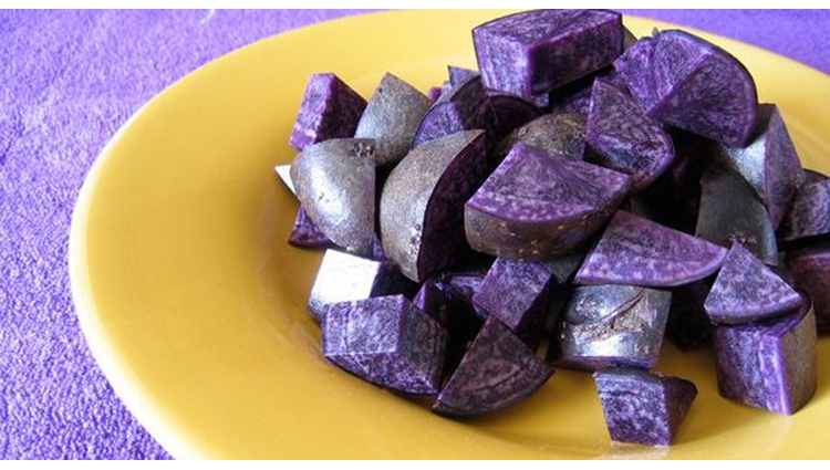 purple potatoes good for health